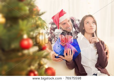 Happy Christmas Couple