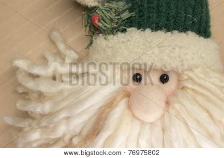 Wool Cloth Santa Claus Face