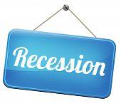 pic of stock market crash  - recession crisis bank and stock crash economic and financial bank recession market crash    - JPG