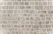 foto of stonewalled  - Gray brick background - JPG