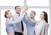 stock photo of office party  - success - JPG
