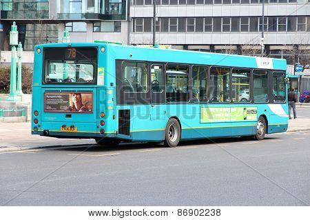 City Bus In The Uk