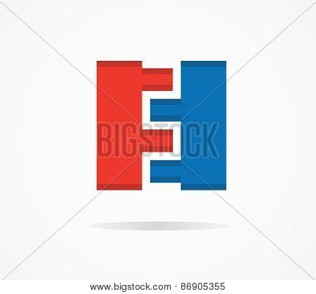 Vector constructor design logo