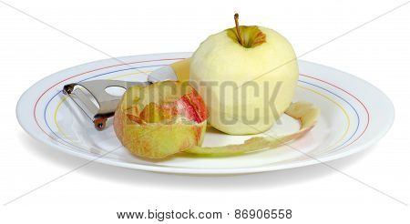 Peeled Apple1