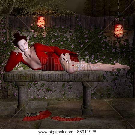Geisha secret relax