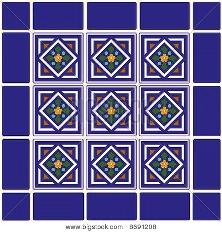 Seamless Tiles, Mexican Ceramic