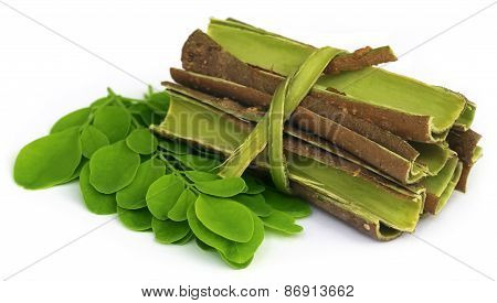 Moringa Leaves And Bark
