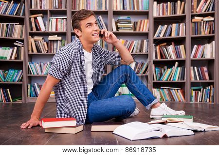 Talking With Friend.