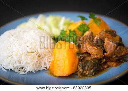 Cuban Cuisine: Lamb Stew