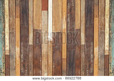 wood plank wall background