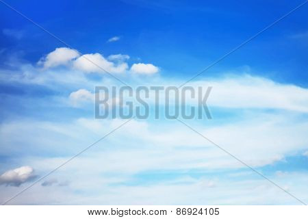 beautiful cloudscape. vector.