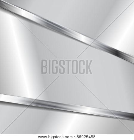 Abstract metallic texture background. Vector design
