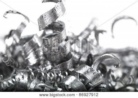 Pile Of Metal Shavings