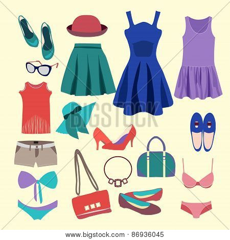 Fashion Collection Of  Summer Clothes