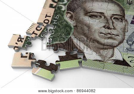 Ukrainian Hryvnia Puzzle
