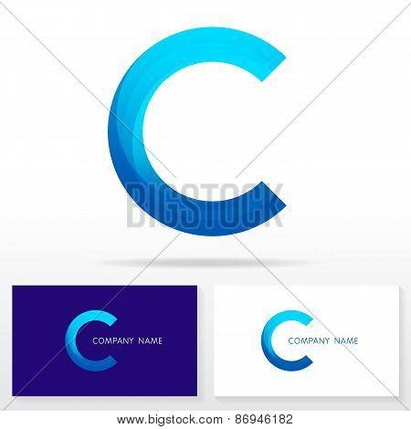Letter C logo icon design template elements - Illustration