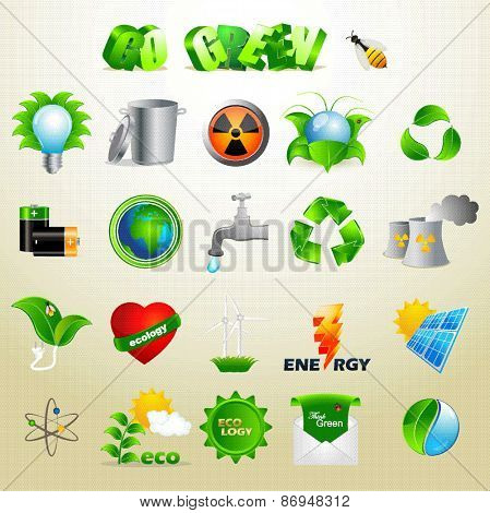 Renewable Energy Sources - Icon Pack