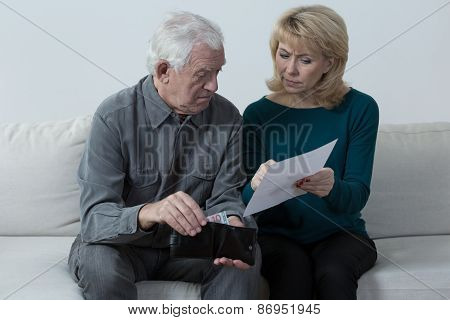 Pensioners Having Financial Problems