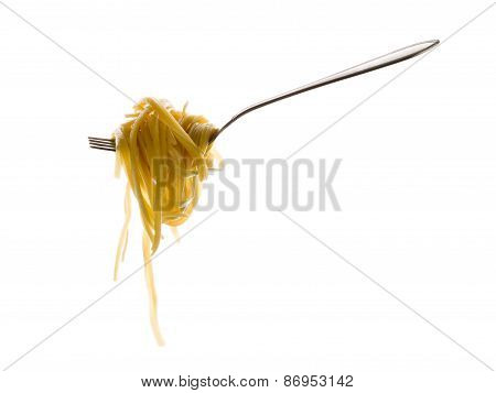 Fork With Delicious Pasta