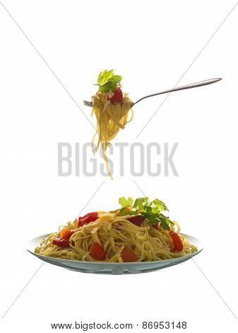 Delicious Pasta With Vegetables