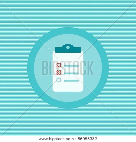 Diagnosis Color Flat Icon