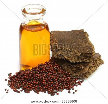 Mustard Seeds Oil And Cake