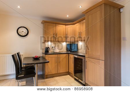 Domestic Kitchen And Dining