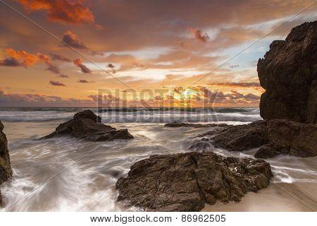 Gold Coast, Miami Beach ocean sunrise