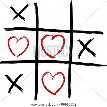 Tic Tac Toe - Love wins