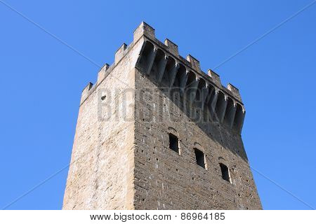 Old Fortification In Italy