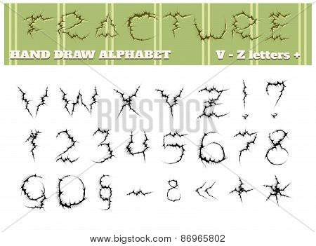 Fracture Alphabet Part Two