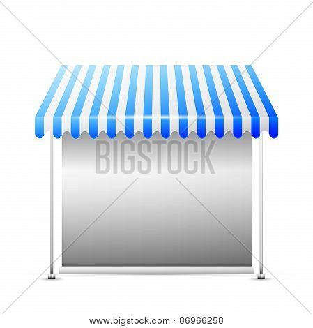 Disolated Business Stall