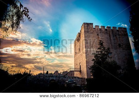 Kolossi, The Medieval Castle. Limassol. Cyprus