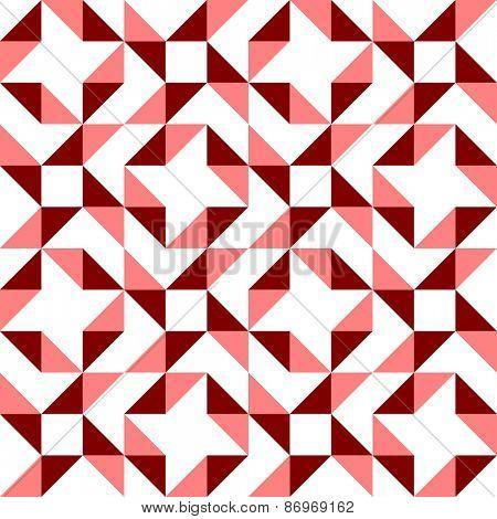Seamless Triangle Pattern. Vector Regular Texture