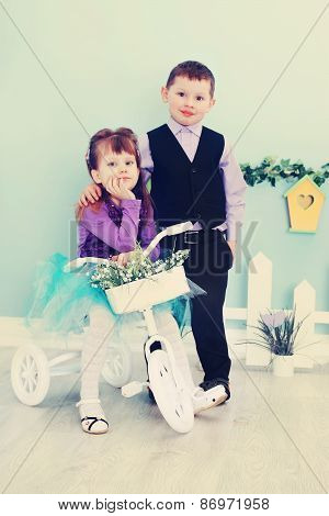 Romantic Couple, Old Photo
