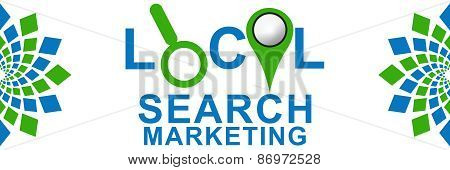 Local Search Marketing Green Blue