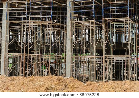 Home Building Construction Site