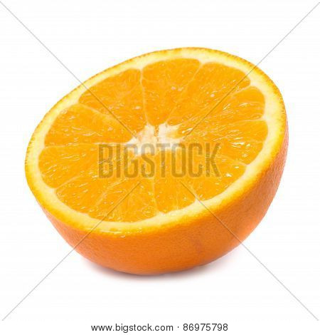 Half Of Juicy Orange