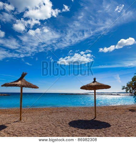 Majorca Cala Bona beach Son Servera Mallorca in Balearic islands of spain