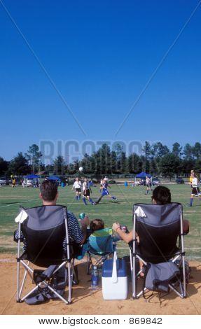 Fußball-Familie