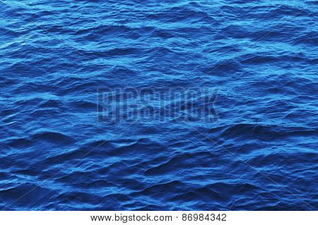 Light Blue Water Ripple Pattern