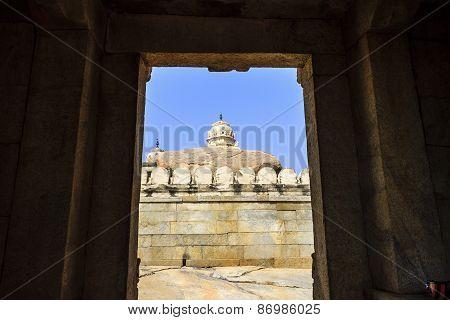 Veerabhadra temple main gopura at Lepakshi, Andhra Pradesh