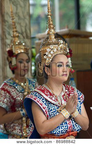 Thai Traditional Dancing.