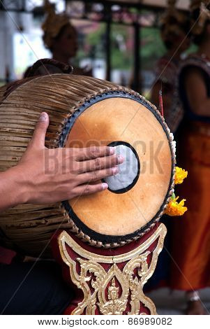 Thai Traditional Drum.