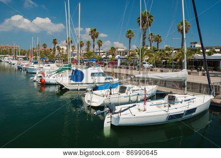 Yacht Club in Barcelona