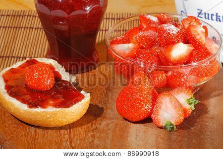 Strawberry, Jam, Marmalade