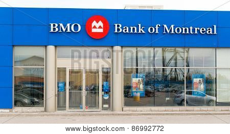 Bmo Or Bank Of Montreal Branch