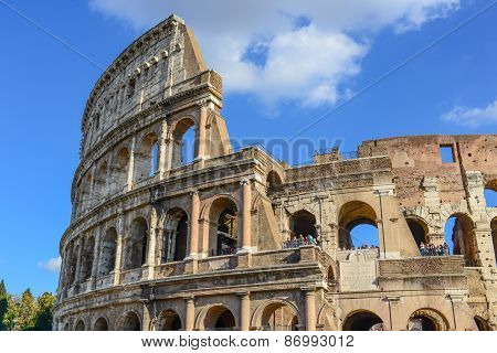 Ancient Ruins - Rome - Italy