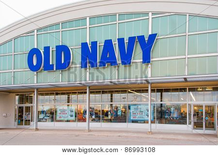 Old Navy Store Facade