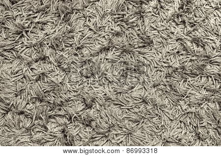 White Grey Carpet Texture For Background
